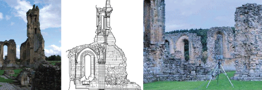 3D laser scanning church abbey heritage site